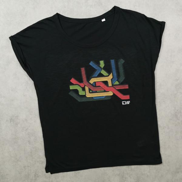 JazzLab Ladies Slub T-Shirt Metro