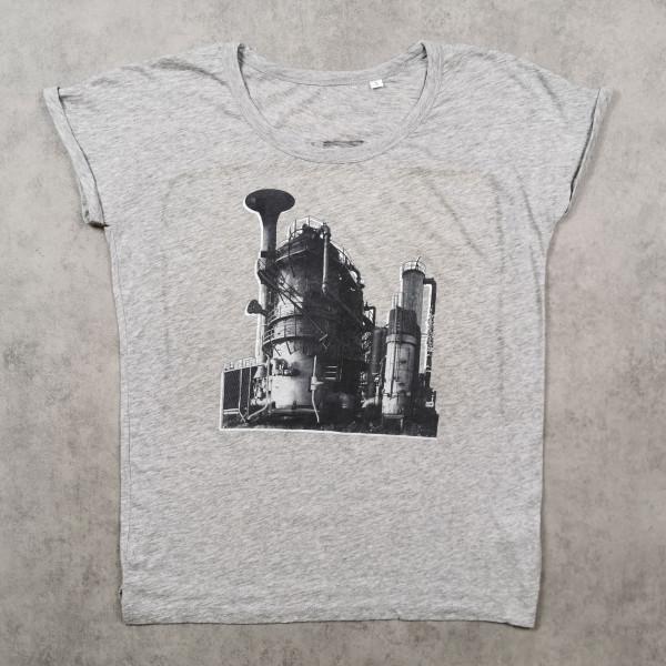 JazzLab Ladies Slub T-Shirt Fabrik