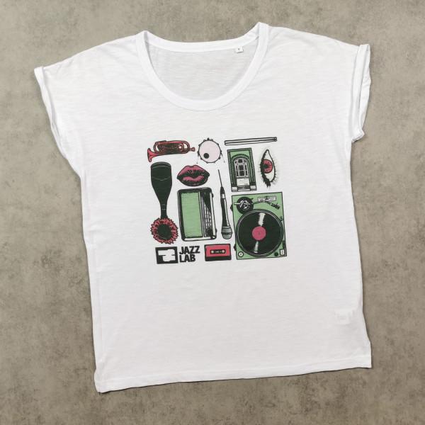 JazzLab Ladies Slub T-Shirt Motive